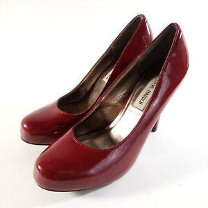 34521bdf82b Image is loading Steve-Madden-Heels-Womens-Size-7-Red-Pumps