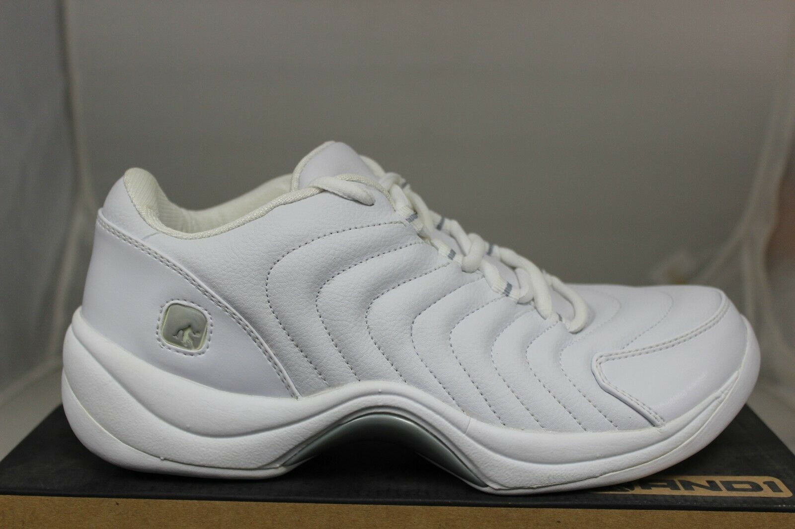 And1 Basketball Drop Step Low D802MWW White Silver Brand New