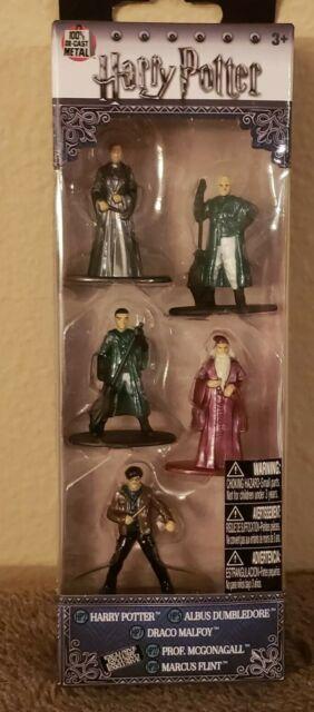 NIB Nano Metalfigs Harry Potter 5 Pack Die Cast Figures Jada Toys Pack B