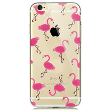 NEW CUTE PINK FLAMINGO TREND FASHION PHONE CASE FOR IPHONE 7