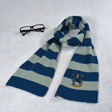 Harry Potter Gryffindor Slytherin Ravenclaw Hufflepuff Knitted  Kids Scarf Wraps