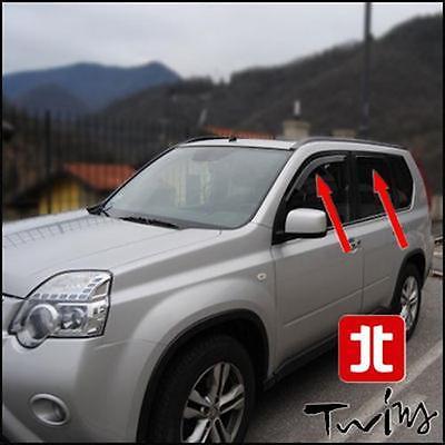 Deflettori Aria Antiturbo Oscurati Nissan X Trail XTRAIL X-Trail dal 2014 T32