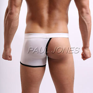 Cheap New Sexy Mens Half Cover Underwear Boxer Briefs Shorts pants ...