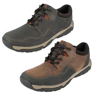 Zapatos Walbeck Clarks Cordones Con Hombre Edge 08qB5