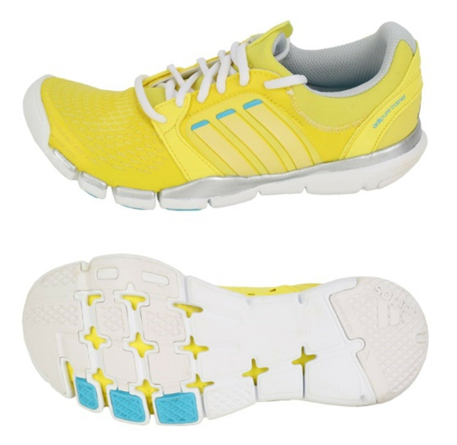 Adidas Women Adipure TR 360 Training shoes Running  Yellow Sneakers shoes Q20512  best service