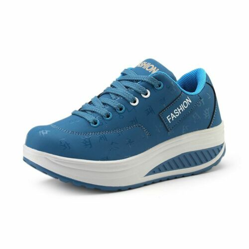 Woman Breathable Sneakers Shoes Waterproof Wedges Platform Ladies Casual Boots