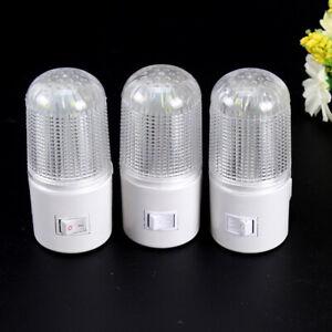 HO-3W-US-EU-Plug-LED-Wall-Mounted-Plug-in-Emergency-Night-Light-Home-Bedside-La