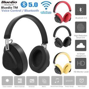eae1e5c96bb Bluedio TM Wireless Bluetooth 5.0 Headset Stereo Studio Hands-Free ...