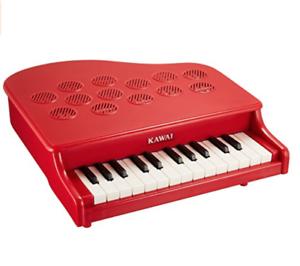 Kawai Mini Piano P-25 pink Red 25Key Educational Toy