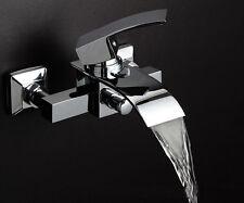 Moderno Designer Cromato Bagno Vasca da Bagno Parete Miscelatore rubinetto per lavello