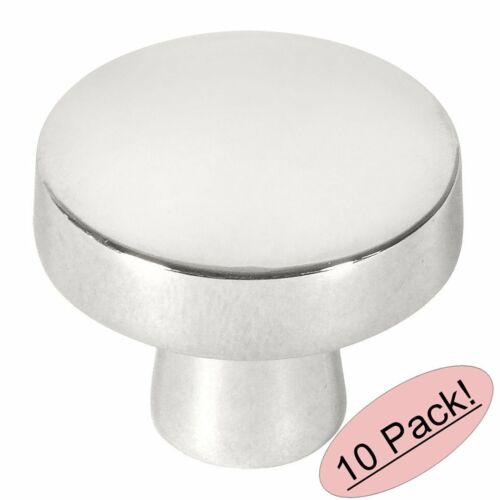 *10 Pack* Cosmas Cabinet Hardware Polished Chrome Contemporary Knobs #5234CH