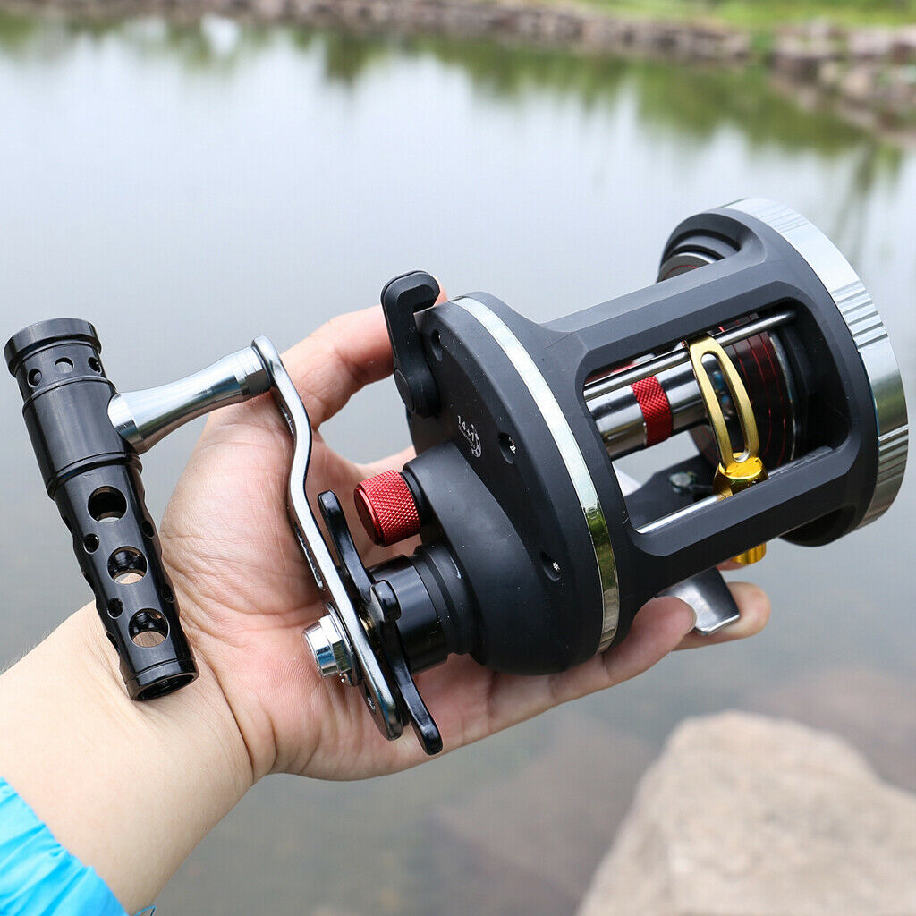 Trolling Reel Level Wind Conventional Jigging Reel for Sea Big Game Fishing