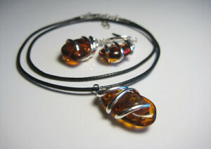 Genuine Amber Baltic Amber Necklace//Pendant !!!