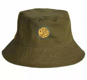 2da369028be58c BNWT Pretty Green Albion Reversible Bucket Hat L Khaki A8AMU0701A540 ...
