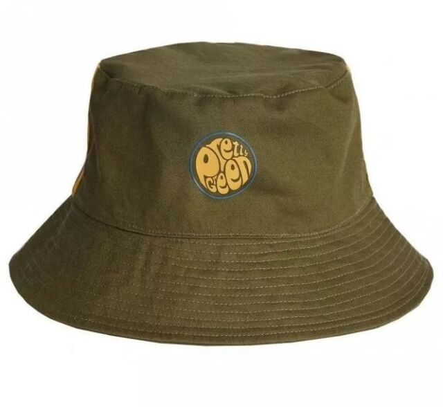 a843931bc BNWT Pretty Green Albion Reversible Bucket Hat M Khaki A8AMU0701A540 RRP £30
