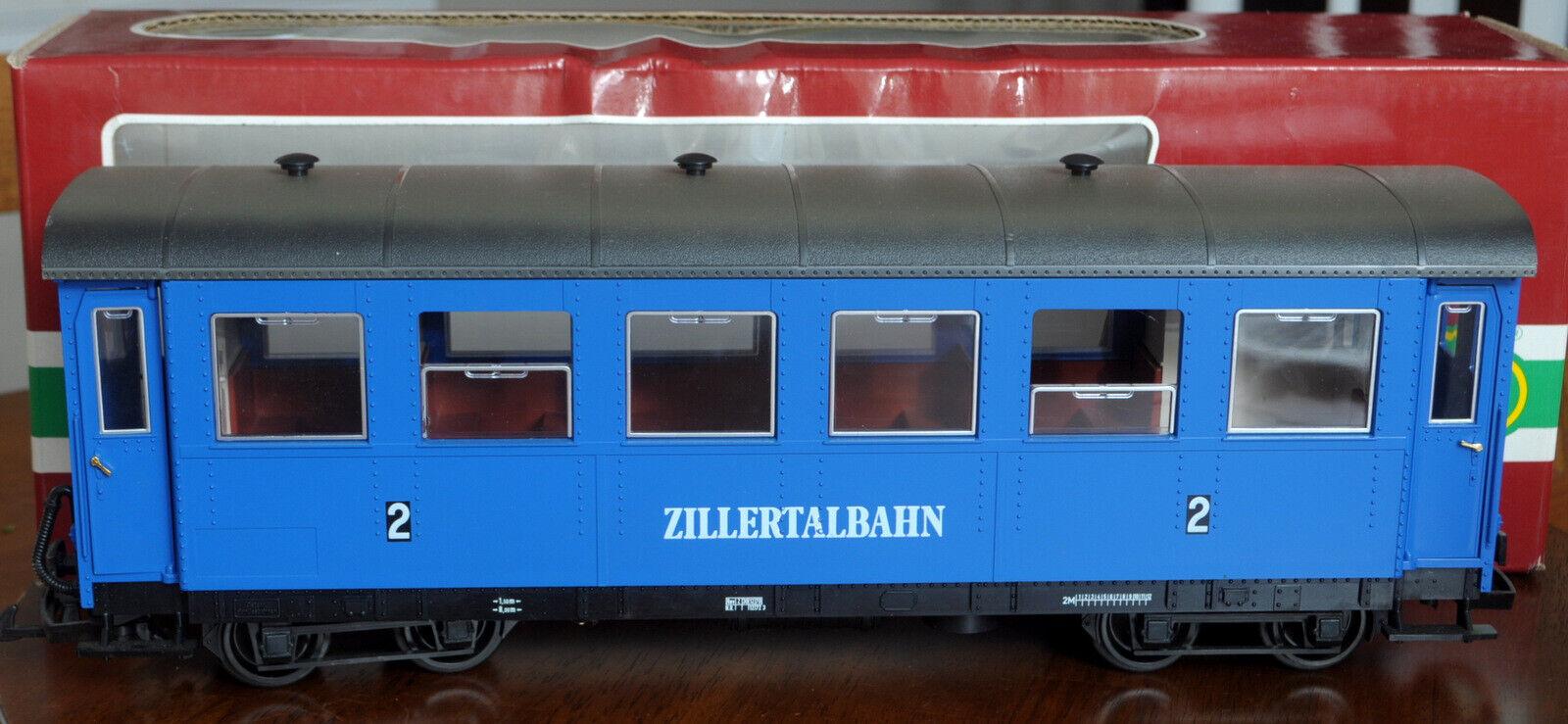 G GaugeLGB 3163 Zillertalbahn Passenger auto 2nd classe Western Geruomoy