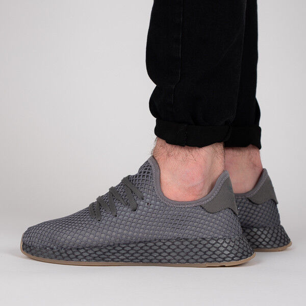 the latest 979c0 d32c1 adidas Originals Trainers Deerupt Runner CQ2627 Grey US 10 for sale online   eBay