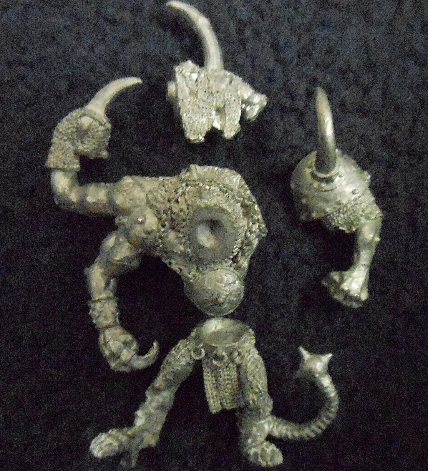 1993 Skaven Boneripper Mutant Rat Ogre Chaos Ratmen Citadel Warhammer Ogor Beast