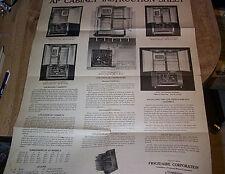 Frigidaire Refrigerator AP Cabinet Instruction Sheet  ILLUS 1928