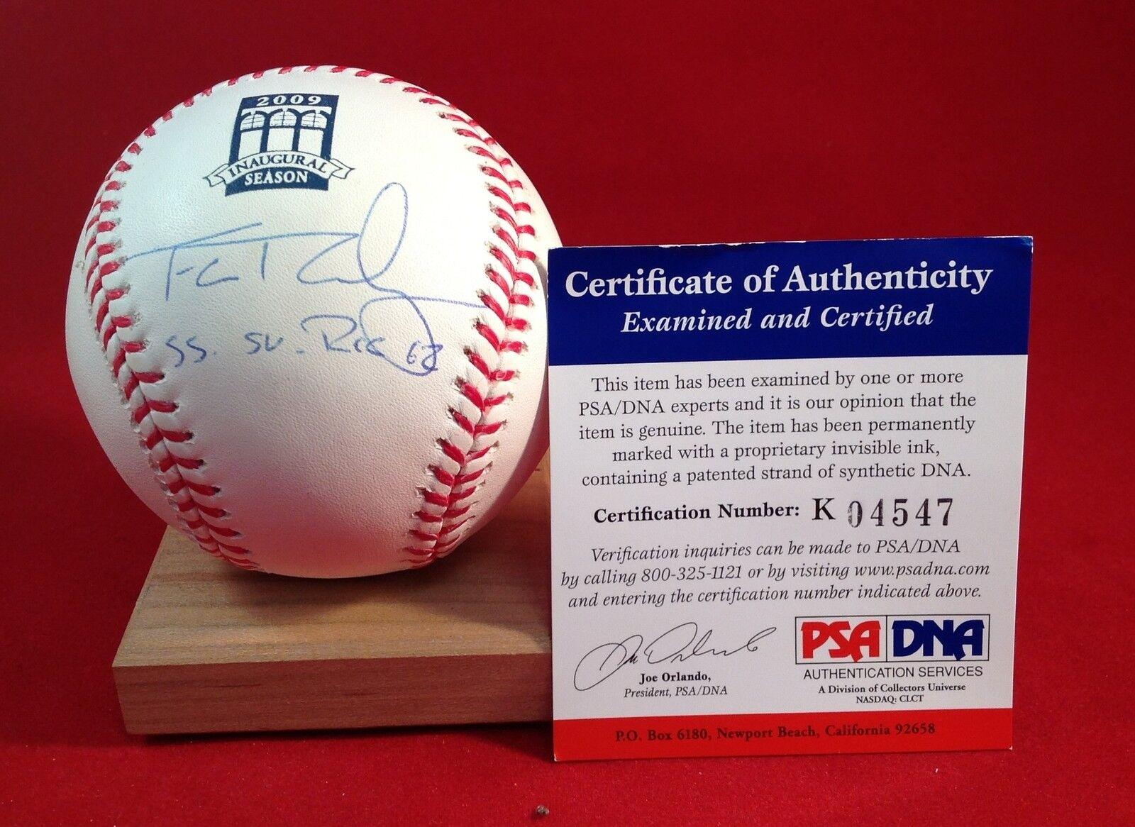 Francisco Rodriguez signed Official MLB 2009 Baseball PSA\DNA Cert #K04547