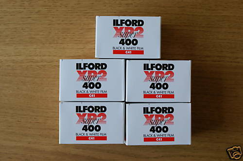 Ilford Xp2 Super 35mm 36exp ISO 400 5 Pack