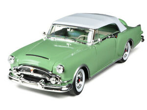 Image Is Loading 1953 Packard Caribbean Soft Top Green 1 24