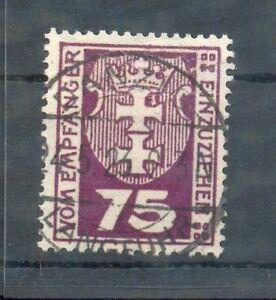 Danzig-5i-Variety-GEF-Postmarked-x5156