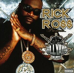 Rick-Ross-M-I-Yayo-New-CD-With-DVD