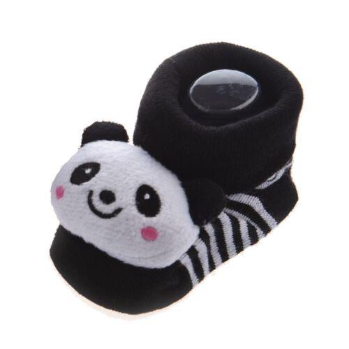 Panda - Unwiderstehliches Niedliches Baby Junge Maedchen 3D Bootie Socken S2 2X