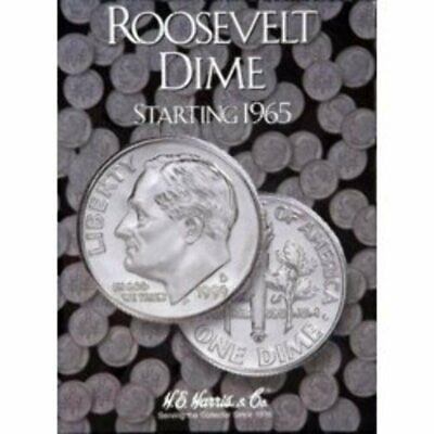 H.E Harris Coin Folder # 2685 Roosevelt dimes #2 1965-1999