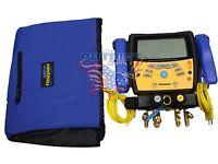 Fieldpiece Sman460 Digital Wireless 4-port Manifold- Micron Gauge Replaces Sman4