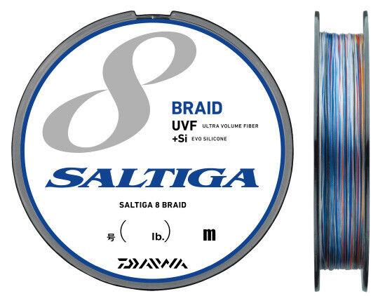 Daiwa Uvf Saltiga Sensore 8BRAID 8BRAID 8BRAID + Si Intrecciato Linea Del Pe 300m Select   60cded