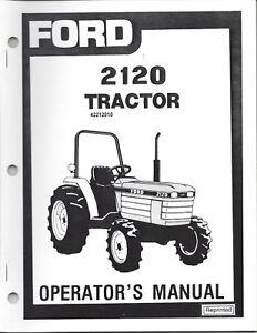 ford  tractor operator manual  ebay