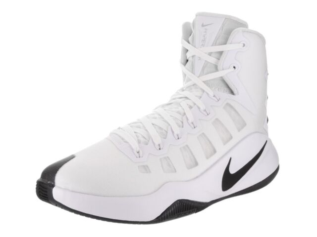5304d303d737 Nike Hyperdunk 2016 White Black Basketball Shoes Sz 13 for sale ...