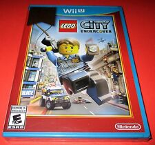 LEGO City Undercover Nintendo Wii U *Factory Sealed! *Free Shipping!