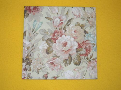 20 Servietten KATE Rosen Blumenpracht 1 Packung OVP roses  Blumen green Ambiente