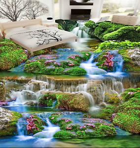 3D Pretty Gardening 85 Floor Wall Paper Murals Wall Print AJ WALLPAPER UK Lemon