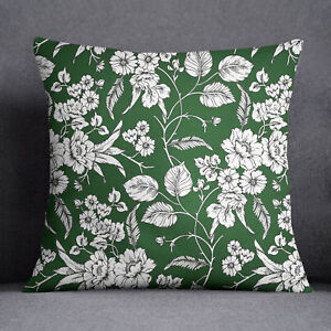 Miraculous Details About S4Sassy Home Decorative Floral Print Green Indian Sofa Cushion Cover Ncnpc Chair Design For Home Ncnpcorg