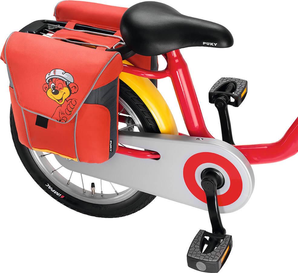 Puky DT3 9788 Doppeltasche für Fahrräder (außer 12 Zoll) - - - Rot 388b73