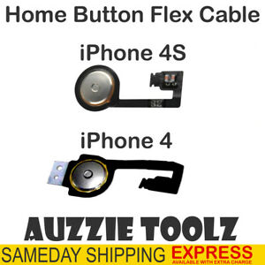 iPhone 4 4S Home Button Flex Cable Ribbon Replacement Part