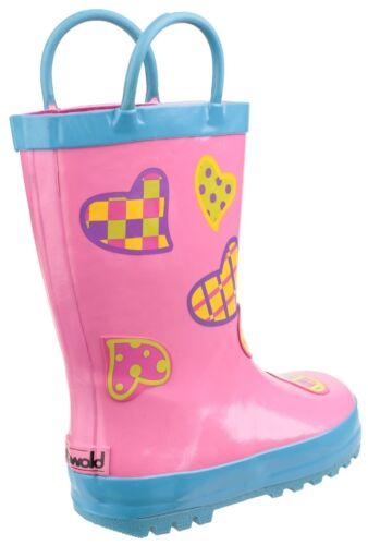 Cotswold Puddle Boot Kids Boys Girls Infants Wellingtons Wellies UK4.5-13