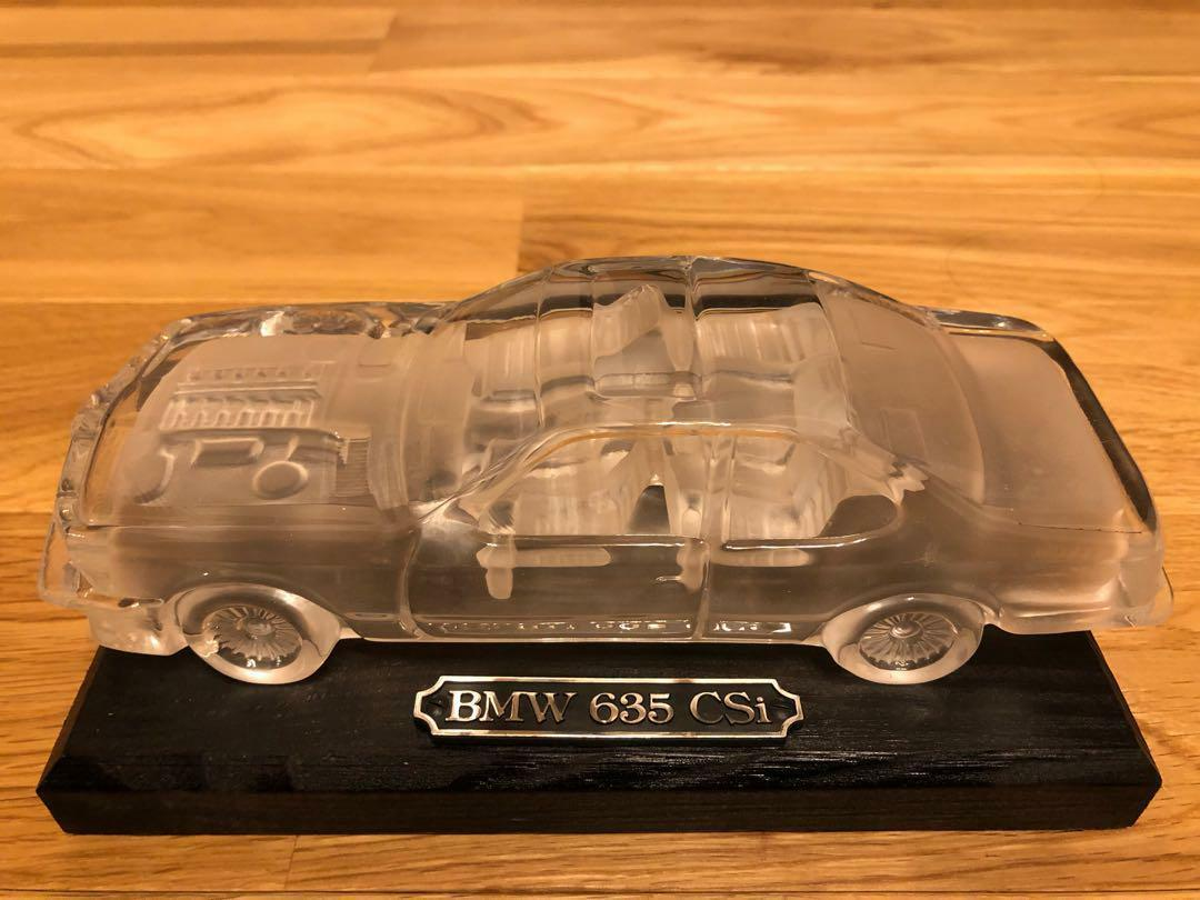 BMW 635 CSI Diecast Verre Made Crystal Box 1 24  très rare de collection Japan F S  acheter des rabais