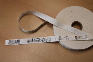 1-Meter-Gurt-Zierband-Band-aus-Baumwolle-bedruckt-20-mm-natur-schwarz