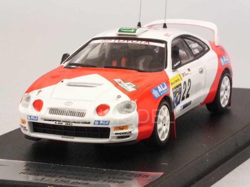 Toyota Celica ST205 Rally Portugal 1998 Bakhashab - Willi 1 43 TROFEU RRAL66
