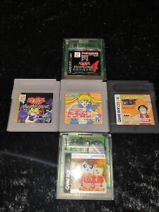 LOT-SAILOR-MOON-YU-GI-OH-5-JEUX-NINTENDO-GAME-BOY-GB-JAPAN-JAP-NTSC-J
