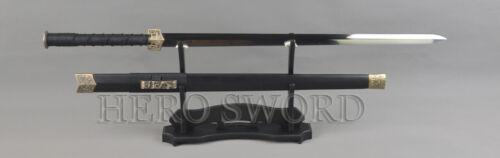 T1095 High Carbon Steel Blade Chinese Sword 汉剑 Handmade Very Sharp Han Jian