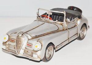 Maquette De Voiture Cabriolet 1951 Nostalgie Modèle En Tôle,métal 31 Cm,neuf (ko