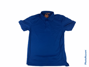 Mens Short Sleeve Polo Shirts W// Moisture Wicking Running Spring Exercise NWT