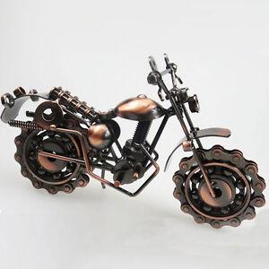 Creative Iron Harley Davidson Motorcycle Model Handmade