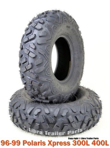 Set 2 WANDA ATV Front Tires Set 23x7-10 for 96-99 Polaris Xpress 300L 400L